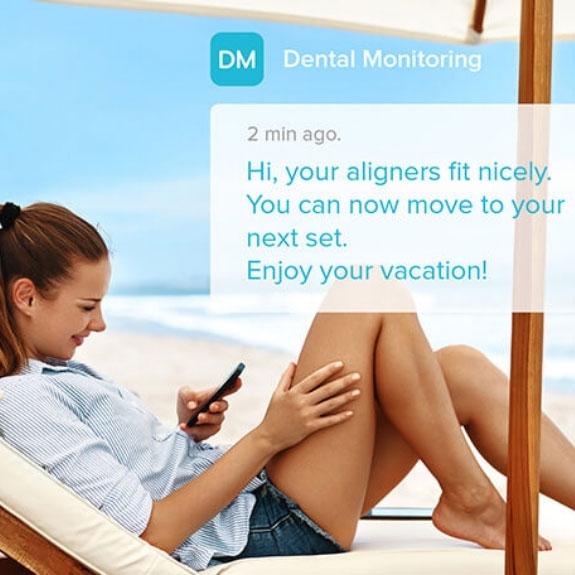 Invisalign-remote dental monitoring